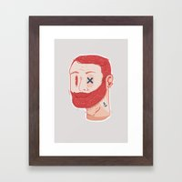 Hipsters to the max Framed Art Print