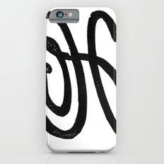 Monogrammed Letter H iPhone 6 Slim Case