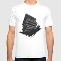 The Giant In The Forest Mens Fitted Tee White SMALL