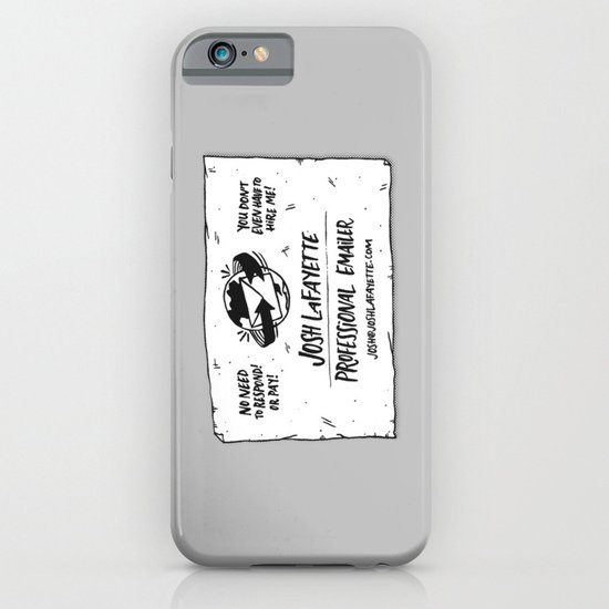 Fake Business Card iPhone & iPod Case