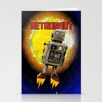 :: RETRONAUT Stationery Cards