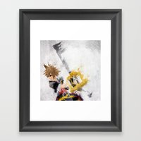 Sora Framed Art Print