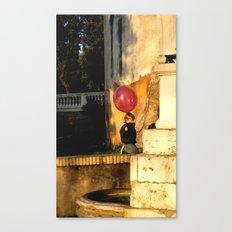 The Pink Balloon Canvas Print