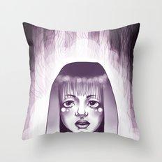 Midnight Visit  Throw Pillow