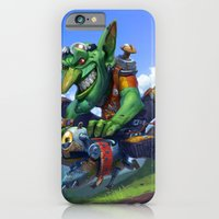 Goblin Rider iPhone 6 Slim Case