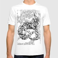 A Dragon from your Subconscious Mind #2 Mens Fitted Tee White SMALL