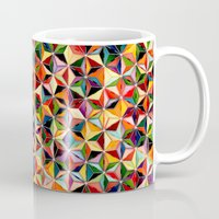 Star Cubes Geometric Art… Mug