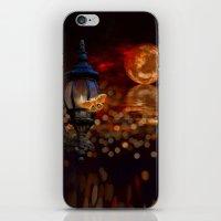 Like A Moth To A Flame iPhone & iPod Skin
