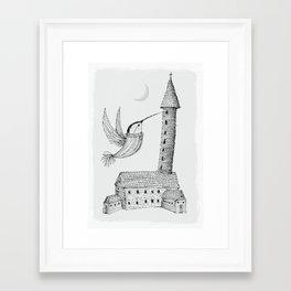Framed Art Print - 'Tower' - Alex G Griffiths