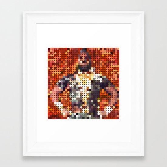 Mr. T Bling Framed Art Print