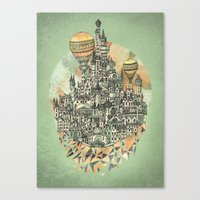 Emerald City Canvas Print