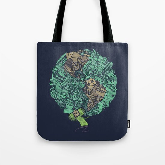 Prince Atlas Tote Bag