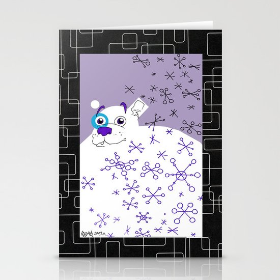 Polar Bear Stationery Card