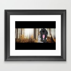 where the wild Adams are  Framed Art Print