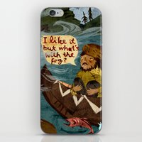 Postcard From Lewis + Cl… iPhone & iPod Skin
