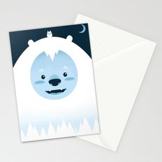 Winter in the woods Stationery Cards