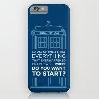 Doctor Who - TARDIS Wher… iPhone 6 Slim Case