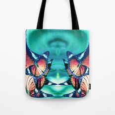 Butterfly Space Act Four Tote Bag