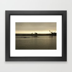 Row, Row, Row Framed Art Print