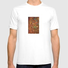 Color Travel part 1 White Mens Fitted Tee SMALL