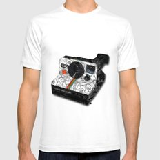 Horror Vacui - POLAROID SMALL Mens Fitted Tee White