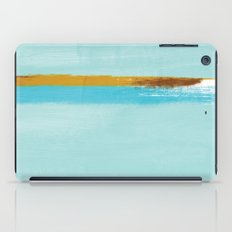 Teal Dream Abstract iPad Case