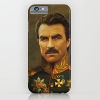 iPhone Cases featuring Tom Selleck - replaceface by replaceface