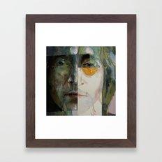 Look @ Me Framed Art Print