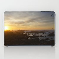 SUNSET - MONTEREY CALIFORNIA iPad Case