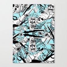 Crash & Burn Canvas Print