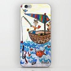 :: Row, Row, Row Your Boat :: iPhone & iPod Skin