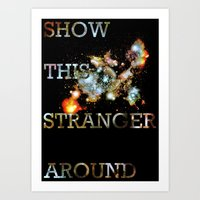 This Stranger Art Print