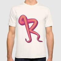 Curly R Mens Fitted Tee Natural SMALL