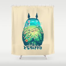 He Is My Neighbor Shower Curtain