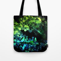 Cellular Automata Tote Bag