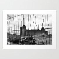 BATTERSEA POWER STATION … Art Print