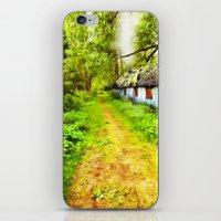 Woodsman's Cottage iPhone & iPod Skin
