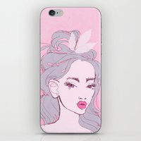 selfie girl_9 iPhone & iPod Skin