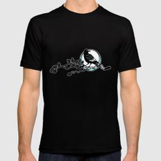 Crow and Oak Mens Fitted Tee Black SMALL