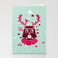 Hugh! Stationery Cards