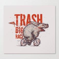 Trash BIG RACE Canvas Print