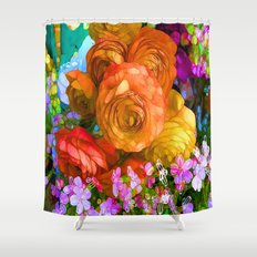 Pop Funky Joy Shower Curtain