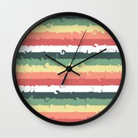Candy Roll Wall Clock