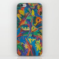 Crazy Dreams of Colour  iPhone & iPod Skin