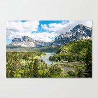 Glacier Lookout Canvas Print
