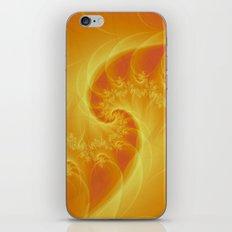 Orange Twist iPhone & iPod Skin