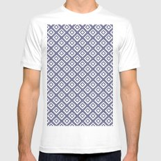 romanian popular motif White Mens Fitted Tee SMALL