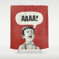 AAAA! Shower Curtain