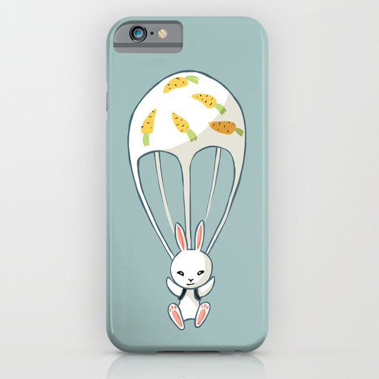 Parachute Bunny iPhone & iPod Case