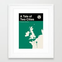 A Tale Of Two Cities  Framed Art Print